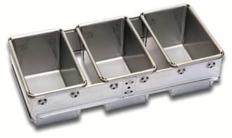 340gm Bread Pan (Set of 3) (400x187x102mm deep)