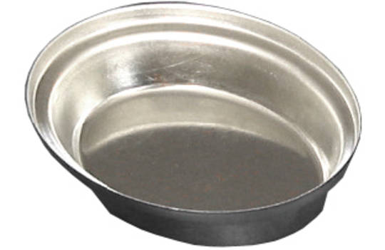 Palletized Savoury Pie Tins, (50) Oval Savoury 80x62x20mm, Tray size 720x415mm