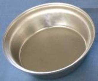 Aluminium pie tin, Round 100 x 28mm