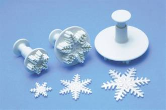 Snowflake Large Plunger Cutter 55mm