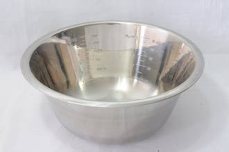 Bowl Stainless Steel, 1.2 litre 190 x 80mm