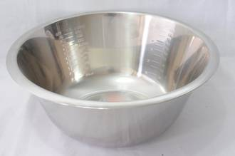 Bowl Stainless Steel, 3.5 litre - 270 x 110mm