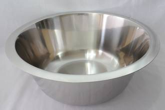 Bowl Stainless Steel, 7 litre - 335 x 135mm