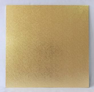 "Square 5"" MDF Board, Gold"