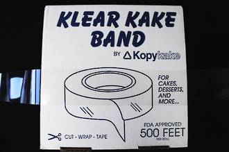 "2"" (50mm) Clear Cake Band"