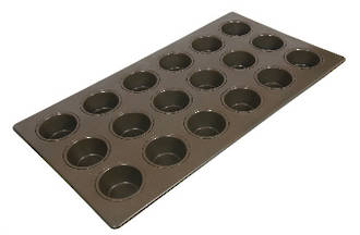 Texas Muffin Tray, 18 Cup (88x45mm)