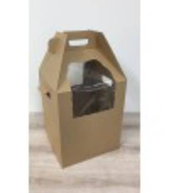 Heavy Duty Tall Cake Carry Box + Handle