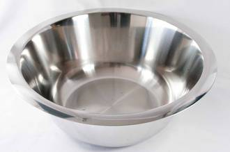 Bowl Stainless Steel,  0.5 litre
