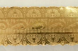 Cake Band Gold 40mm Width  50mt Length