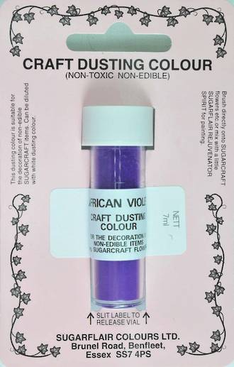 Sugarflair Craft Dusting Colour African Violet