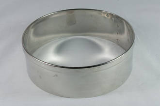 Stainless Steel Cake Rings 50 x 50mm deep, Stainless steel - made to order