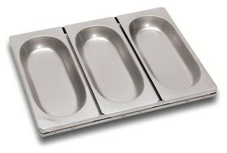 Vienna Pan (Set of 3) 272x114mm, Tray size: 403x297x31mm