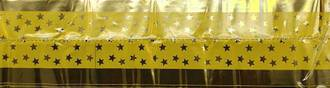 Cake Band Star Yellow/Gold 63mm (7m)