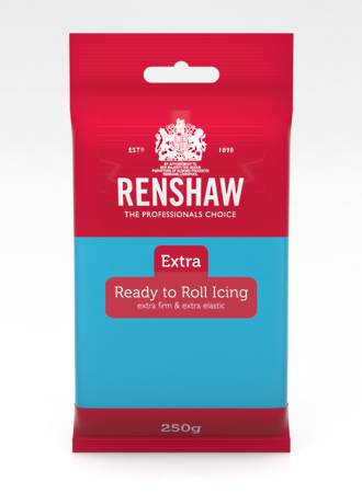 Renshaw Extra- Blue Icing 250g - BBD AUG 19-DUE END OCT
