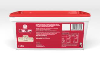Renshaw Extra- Ivory Icing 3kg (3x1kg) - BBD SEPT 19 -DUE 19 NOV NZ - SOLD OUT