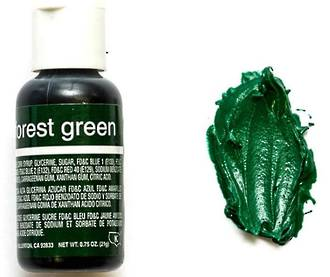 Chefmaster Liqua Gel Forest Green .70oz Bottle