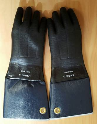 Insulated Fryers Gloves 450mm LONG
