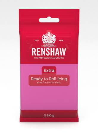 Renshaw: Extra- Fuchsia Pink Icing 250g (12) - DUE END OCT