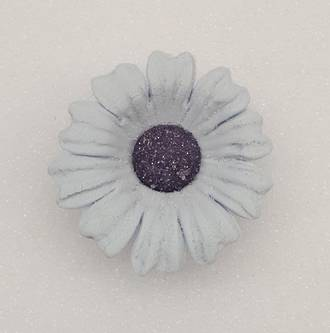 Daisy Plum Frost Icing Flower 40mm (32)