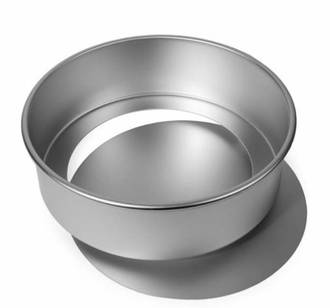 "9"" (230x70mm Deep) Aluminium Loose Base Cake Pan"