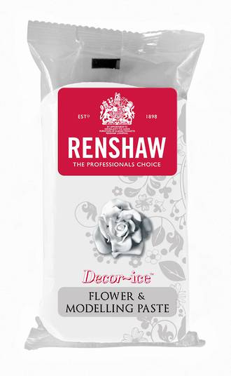 Renshaw Flower & Modelling Paste White, 250g (Box of 8)