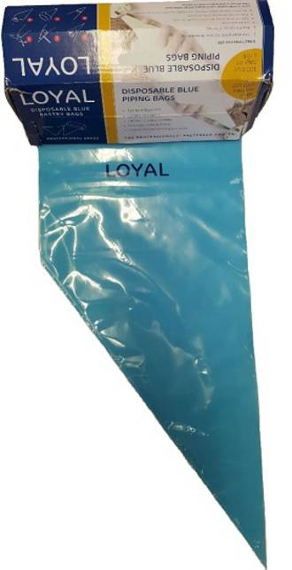 "12"" (300mm) Disposable Non Slip Blue Bags (100)"
