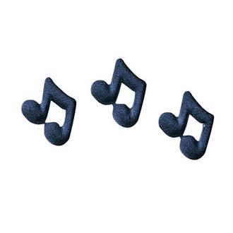 Music Notes Dec-on Sugar Decorations 25mm (Box of 280)