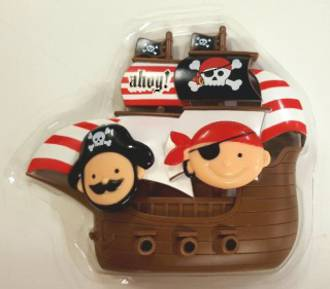 Little Pirates Deco Set 150 x 130mm