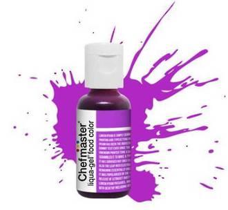 Chefmaster Liqua Gel Purple .70oz Bottle