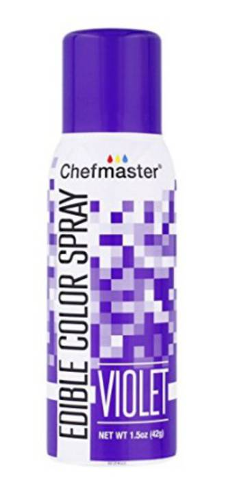 Chefmaster Edible Violet Spray - 1.5oz -