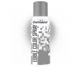 Chefmaster Edible Silver Spray - 1.5oz -