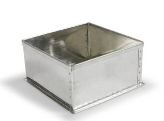 "Square Cake Tin 15cm or 6"" (Top Quality)"