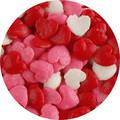 Coloured Hearts 1Kg Bag