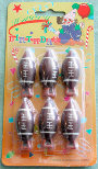 Rugby ball set of 6