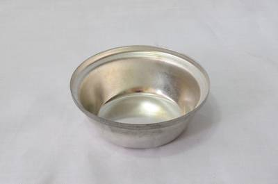 Large Round Single Savory Tin (Shallow, 72mm x 26mm - Tin Plate)