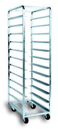 Production Rack S/Steel - 12 Shelf