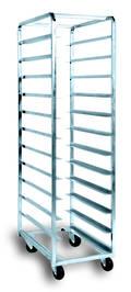 Production Rack S/Steel, 18 Shelf - 1810(h) x470(w) x740(d)