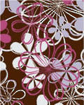 Chocolate Transfer Sheets (5 Sheets per Packet), Rosanna3