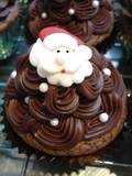 Christmas Santa Faces (2D Icing, 25mm - Box of 60) - Sold Out