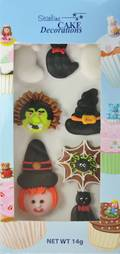 Halloween (2D Assorted Icing - Packet of 8)