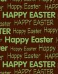 "Chocolate Transfer Sheets (5 Sheets per Packet), ""Happy Easter"""