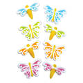 Butterfly & Dragonfly Assortment Dec-on Sugar Decorations 44mm (Box of 80)