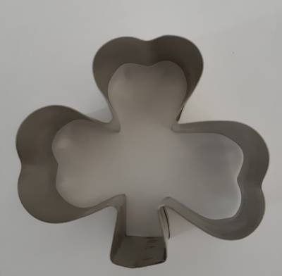 Shamrock Cookie Cutter 3 leaf 60mm
