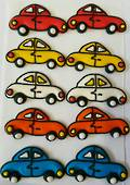 2D Icing Cars 30mm (BOX 30)