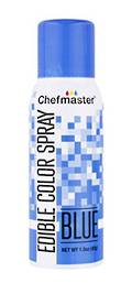 Chefmaster Edible Blue Spray - 1.5oz -