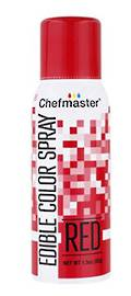 Chefmaster Edible Red Spray - 1.5oz -