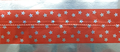 Cake Band Star Red/Silver 63mm (7m)