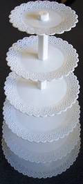 Cake Stand tall tier Round 152-406mm