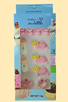 Edible Decorations - Baby Girl