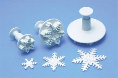Small Snowflake Plunger Cutter 25mm